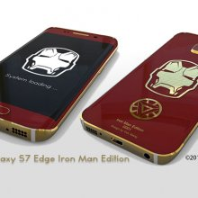Samsung S7 Edge Iron Man