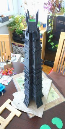 Orthanc LotR dice tower